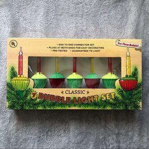 SALE Classic vintage bubble lights
